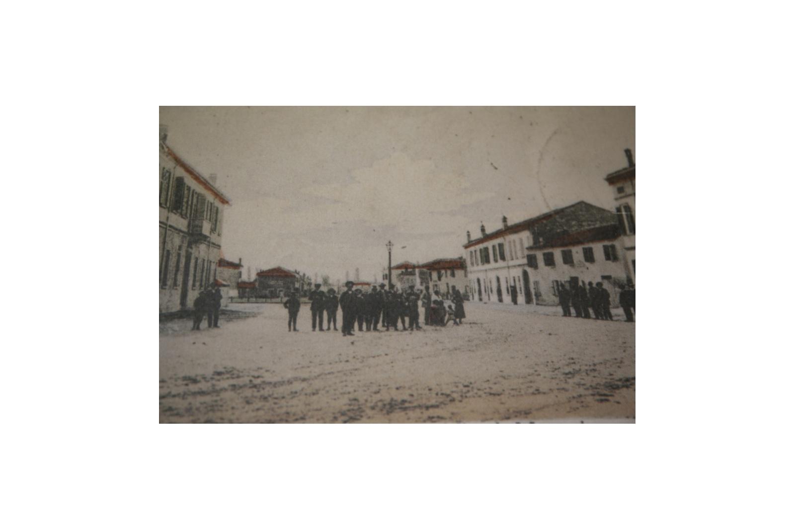 Tresigallo prima della rifondazione (1900 ca.)