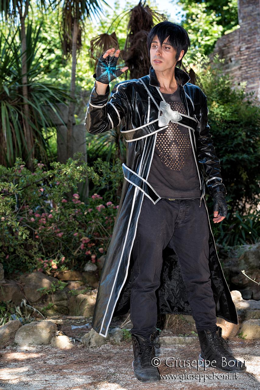 "Kirito (dalla serie di light novel ""Sword Art Online"")"