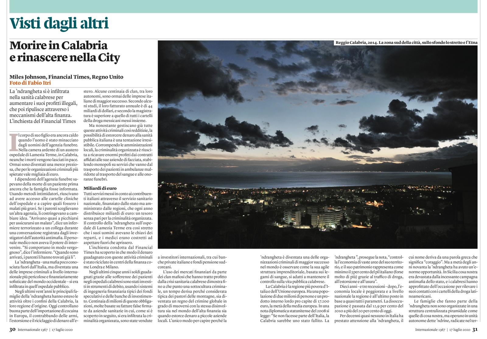 On Internazionale Magazine n°1367 - 17/23 July 2020