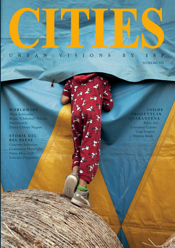 Circus Lockdown on half yearly magazine CITIES n°7 [cover story + 10 pp reportage] - november 2020